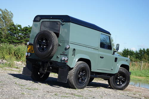 2008 Land Rover Defender 90 2.4 TDCi Hard Top NO VAT SOLD (picture 3 of 6)