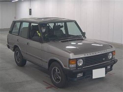 1990 RANGE ROVER CLASSIC –HERE FROM JAPAN NOW SOLD (picture 1 of 6)