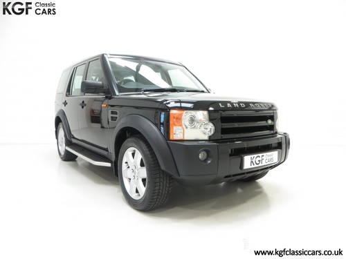 2005 A Land Rover Discovery 3 with One Owner and 23.659 Miles SOLD (picture 1 of 6)
