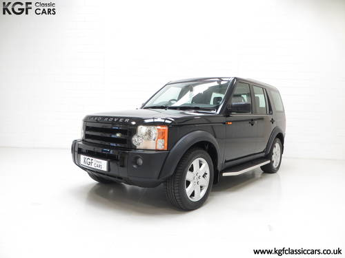 2005 A Land Rover Discovery 3 with One Owner and 23.659 Miles SOLD (picture 2 of 6)