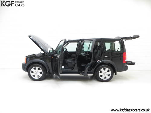 2005 A Land Rover Discovery 3 with One Owner and 23.659 Miles SOLD (picture 3 of 6)
