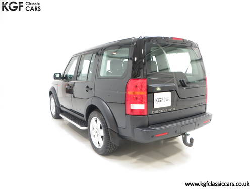 2005 A Land Rover Discovery 3 with One Owner and 23.659 Miles SOLD (picture 4 of 6)