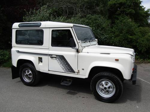 1989 Land Rover 90 V8 County Station Wagon SOLD (picture 1 of 6)