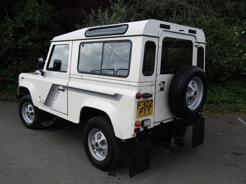 1989 Land Rover 90 V8 County Station Wagon SOLD (picture 2 of 6)