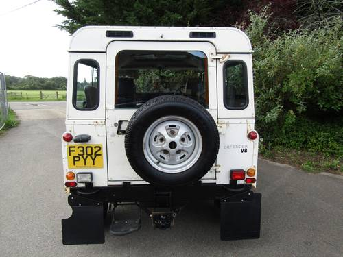 1989 Land Rover 90 V8 County Station Wagon SOLD (picture 6 of 6)