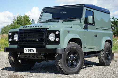 Land Rover Defender 90 2.2 TDCi 2012 WILLIAMS EDITION SOLD (picture 1 of 6)