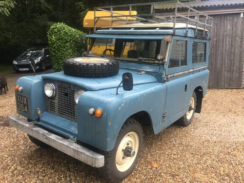 1961 Land Rover Series 2a 88 SOLD (picture 1 of 6)