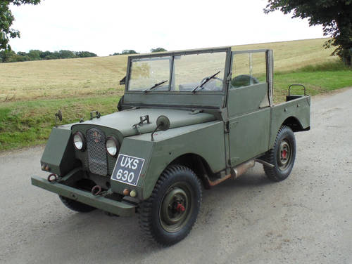 1952 Land Rover Series 1 Minerva SOLD (picture 1 of 6)