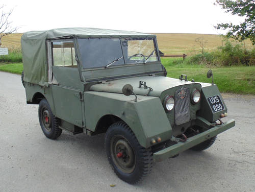 1952 Land Rover Series 1 Minerva SOLD (picture 2 of 6)