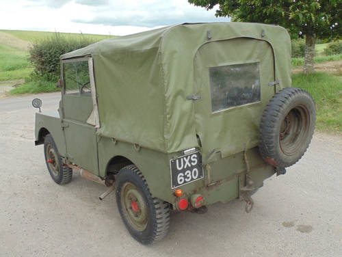 1952 Land Rover Series 1 Minerva SOLD (picture 3 of 6)