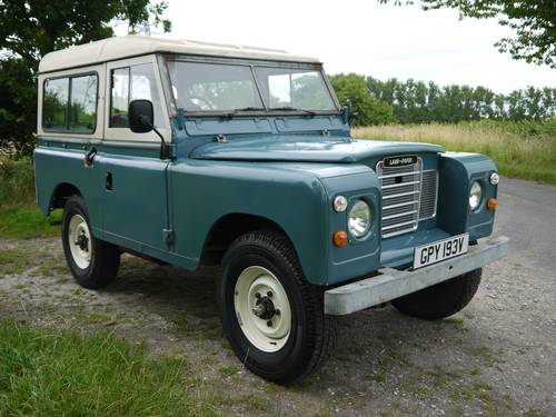 1980 Land Rover Series III 88 SOLD (picture 1 of 6)