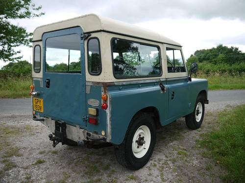 1980 Land Rover Series III 88 SOLD (picture 3 of 6)