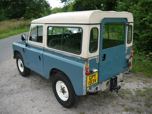 1980 Land Rover Series III 88 SOLD (picture 4 of 6)