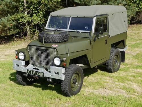 1971 Land Rover Lightweight 2.25D SOLD (picture 1 of 6)