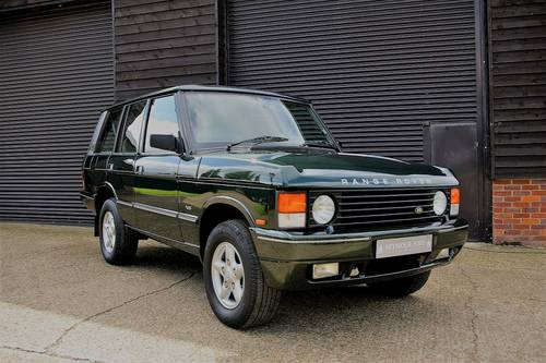 1995 Range Rover CLASSIC 3.9 V8 Auto SWB (60,414 miles) SOLD (picture 2 of 6)