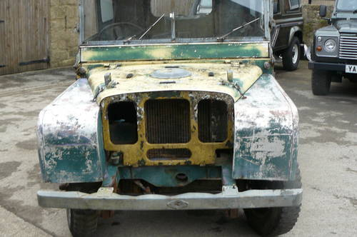 1950 LAND ROVER SERIES ONE BARN FIND FROM AUSTRALIA SOLD ...
