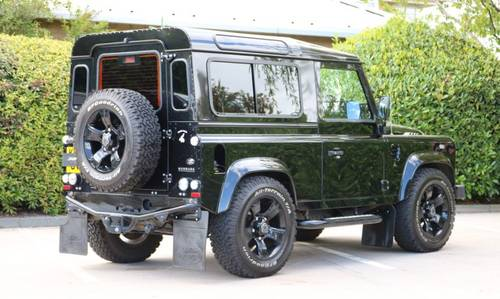 2014 Defender 90XS Urban Nurburg For Sale (picture 4 of 6)