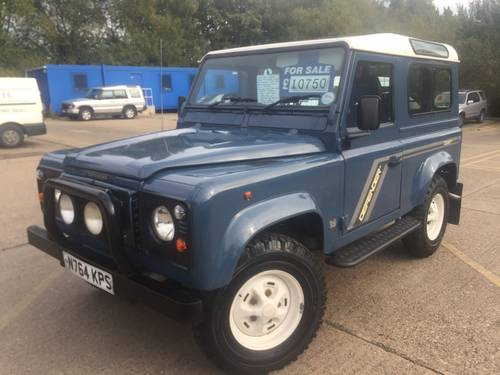 1996 land rover defender 90 300 tdi with galvanised chassis For Sale (picture 2 of 6)
