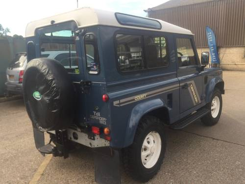 1996 land rover defender 90 300 tdi with galvanised chassis For Sale (picture 3 of 6)