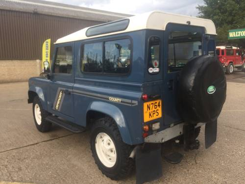 1996 land rover defender 90 300 tdi with galvanised chassis For Sale (picture 4 of 6)
