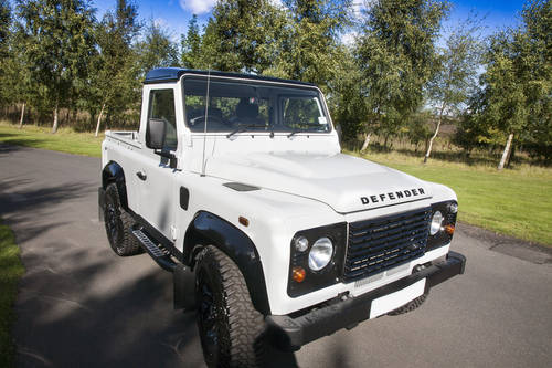 2016 Land Rover Defender 90 Pickup (VAT Qualifying) SOLD (picture 2 of 6)