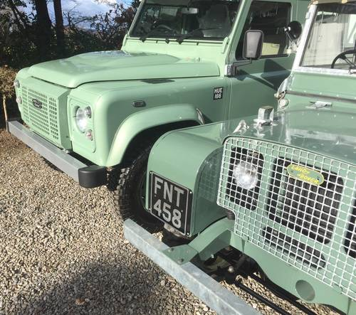 Land Rover 90 Defender 2.2TD 2016MY Heritage Edition SOLD (picture 2 of 5)