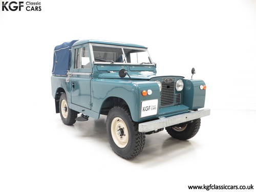 1958 A Versatile Land Rover Series 2 SWB 88-inch SOLD (picture 1 of 6)