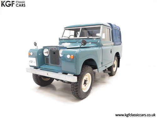 1958 A Versatile Land Rover Series 2 SWB 88-inch SOLD (picture 2 of 6)