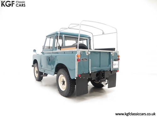 1958 A Versatile Land Rover Series 2 SWB 88-inch SOLD (picture 4 of 6)