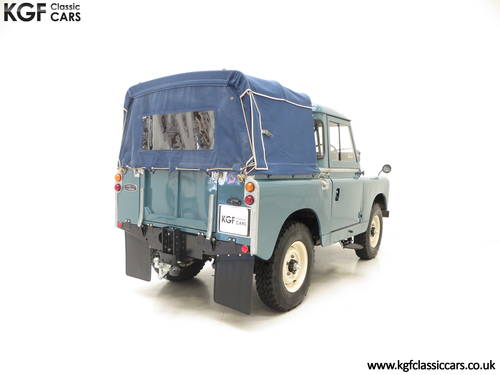 1958 A Versatile Land Rover Series 2 SWB 88-inch SOLD (picture 5 of 6)