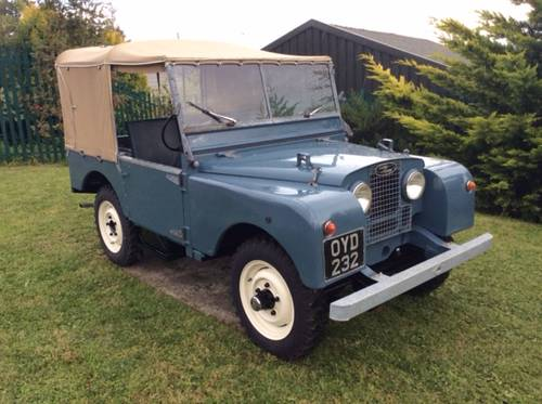 LAND ROVER 80 INCH 1953  SOLD (picture 1 of 4)