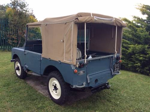 LAND ROVER 80 INCH 1953  SOLD (picture 4 of 4)