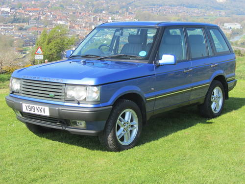 2000 Range Rover Vogue 4.6 V8 For Sale  SOLD (picture 1 of 6)