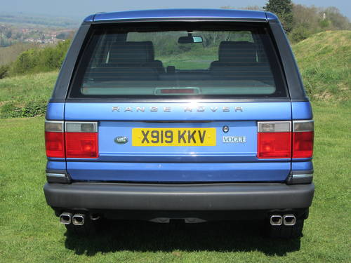 2000 Range Rover Vogue 4.6 V8 For Sale  SOLD (picture 3 of 6)