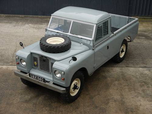 1969 Land Rover Series IIA 109 SOLD (picture 1 of 6)