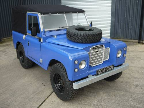 1974 Land Rover Series III 88 2.25P SOLD (picture 1 of 6)