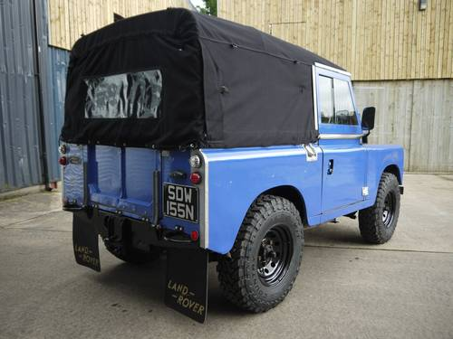 1974 Land Rover Series III 88 2.25P SOLD (picture 4 of 6)