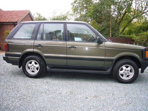 RANGE ROVER 4.6 HSE 1997, 94000 MILES For Sale (picture 1 of 6)