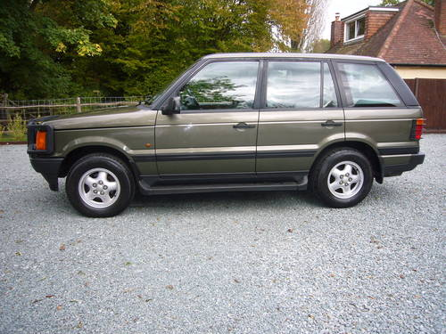 RANGE ROVER 4.6 HSE 1997, 94000 MILES For Sale (picture 2 of 6)