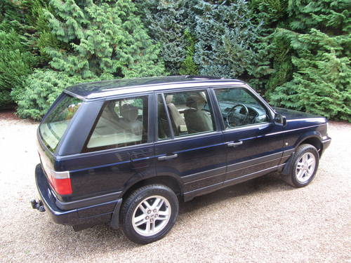 1999 Very RARE Range Rover P38 Vogue SE NOW SOLD SOLD | Car