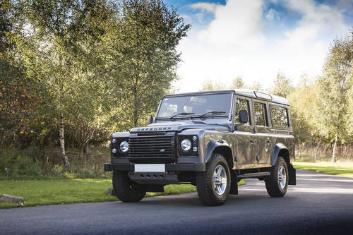 2015 LAND ROVER DEFENDER 110 LANDMARK EDITION 4X4 SOLD (picture 1 of 6)