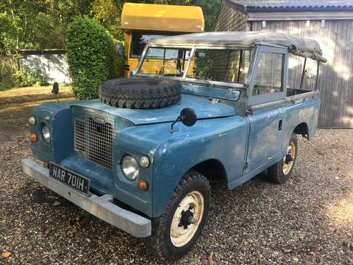1969 Land Rover Series 2a 88 SOLD (picture 1 of 6)