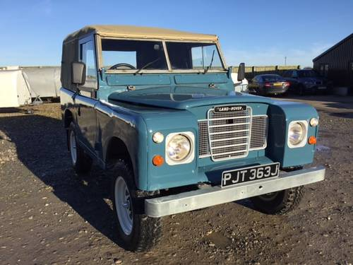 1971 Land Rover® Series 3 *Galv Chassis and Tax Exempt* (PJT) SOLD (picture 1 of 6)