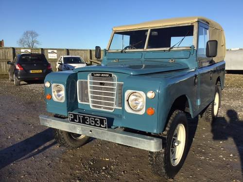 1971 Land Rover® Series 3 *Galv Chassis and Tax Exempt* (PJT) SOLD (picture 2 of 6)