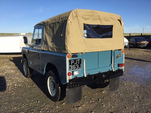 1971 Land Rover® Series 3 *Galv Chassis and Tax Exempt* (PJT) SOLD (picture 3 of 6)