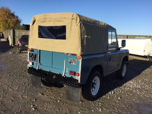 1971 Land Rover® Series 3 *Galv Chassis and Tax Exempt* (PJT) SOLD (picture 4 of 6)