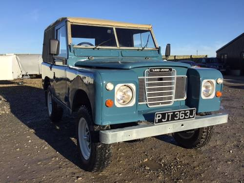 1971 Land Rover® Series 3 *Galv Chassis and Tax Exempt* (PJT) SOLD (picture 6 of 6)