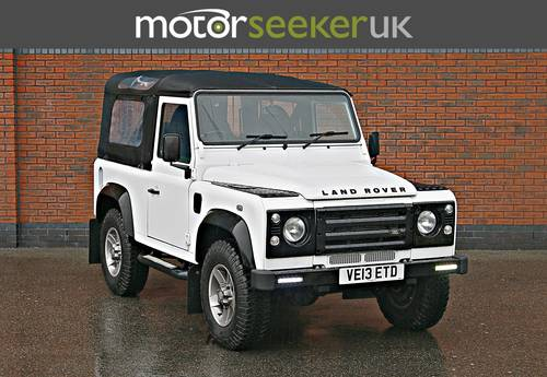 Land Rover Defender 2.2 Soft Top 90 edition only 4900 miles  For Sale (picture 1 of 6)