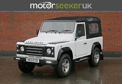 Land Rover Defender 2.2 Soft Top 90 edition only 4900 miles  For Sale (picture 2 of 6)
