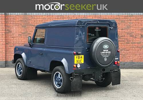 2014 Land Rover Defender Hard Top TDCi [2.2] vat q Heritage editi For Sale (picture 3 of 6)